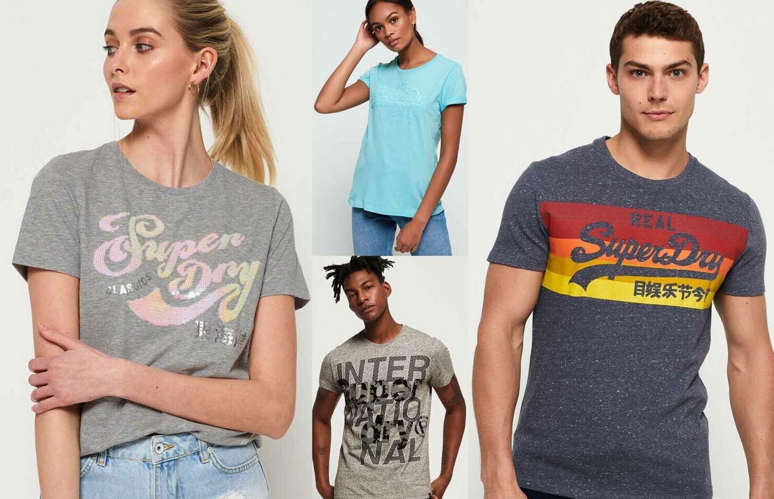 Superdry Damen & Herren T Shirts bis 3XL für je 13,95€ (statt 21€)