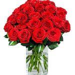 30 rote Premium-Rosen Red Naomi mit 80 Blütenblätter pro Stiel für 29,98€ inkl. Versand