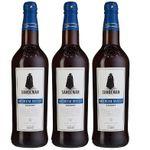 Sandeman Medium Sweet Sherry (3x 0,75 Liter) für 11,70€ (statt 27€) – Prime Versand