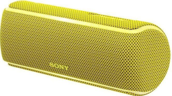 Sony SRS XB21   wasserfester Bluetooth Lautsprecher in gelb für 50€ (statt 55€)