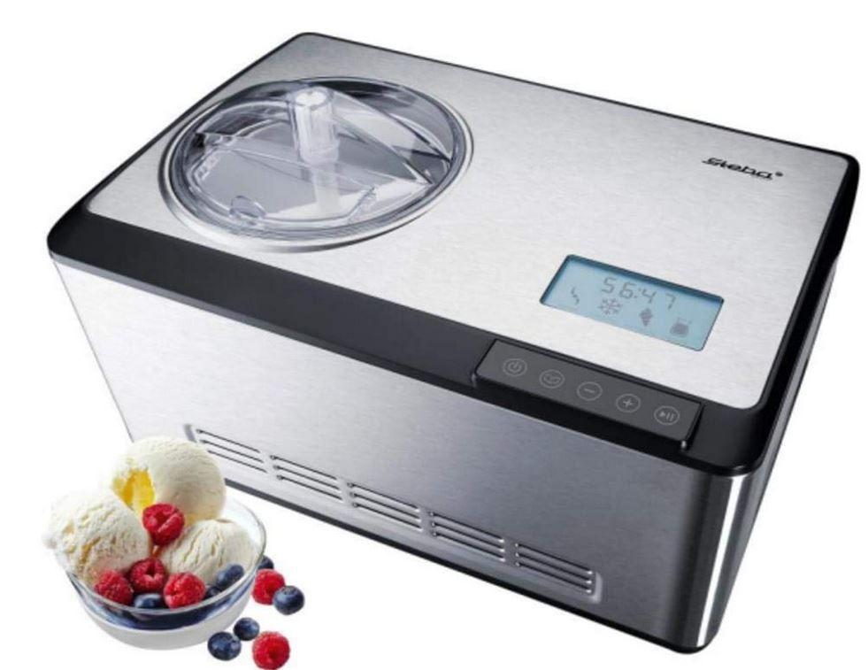 STEBA IC 180 Edelstahl Kompressor Eismaschine 180 Watt für 199€ (statt 260€)