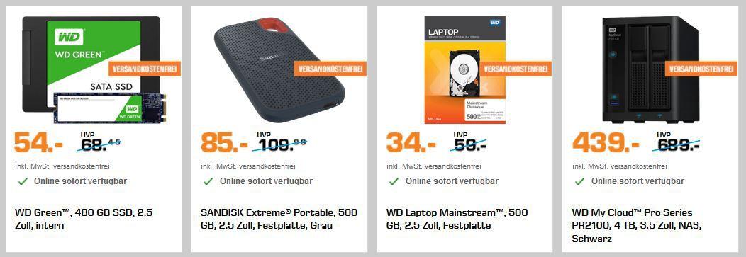 Saturn Speicher Knaller: Letzter Tag z.B. SANDISK Ultra Flair USB 3.0 Stick 256 GB für 29€ (statt 43€)