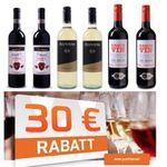 🔥 Knaller: Bei Weinvorteil 30€ Gutschein (MBW 60€) – z.B.  18x Calle Sauvignon Blanc für 38,72€