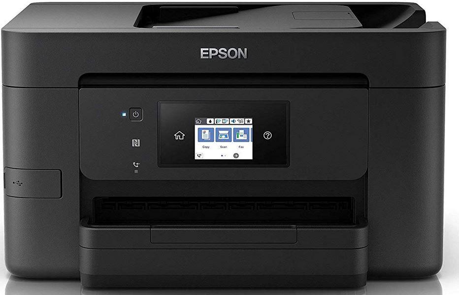 Epson WorkForce Pro WF 3720DWF WLAN Fax Tintenstrahldrucker für 74,90€ (statt 91€)
