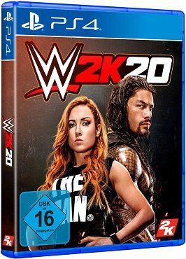 DOPPELPACK   WWE 2K20 für die Xbox oder die PS4 für nur 69,99€ (statt 104€)