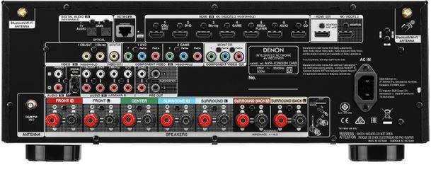 Vorbei! DENON AVR X2600H   7.2 AV Receiver  399,95€ (statt 485€)