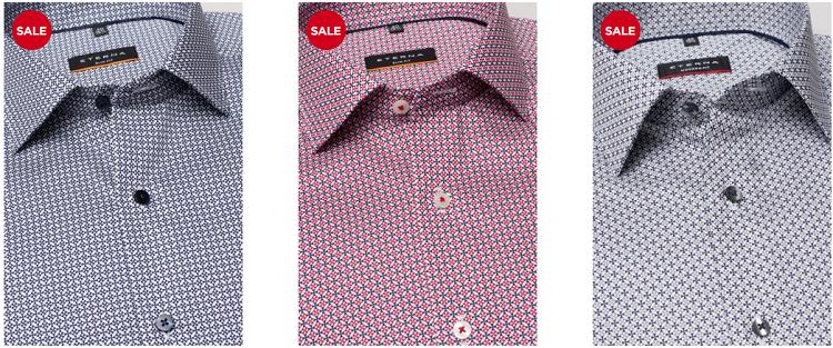 Wieder da: Eterna Hemden Sale: 3 Hemden kaufen   nur 99€ bezahlen (statt ab 120€)