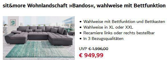 OTTO: 15% Rabatt auf Möbel, Lampen & Dekoration