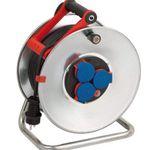 Brennenstuhl Garant S – 50m Stahlblech-Kabeltrommel mit Bremaxx Kabel für Außenbereich für 53,10€ (statt 63€)
