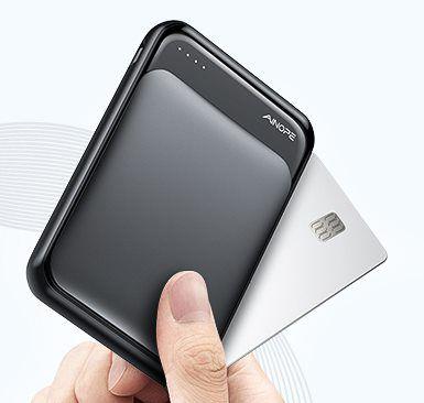 Vorbei! AINOPE DY 5000   Mini Powerbank mit 5.000mAh für unterwegs für 6,49€   Prime