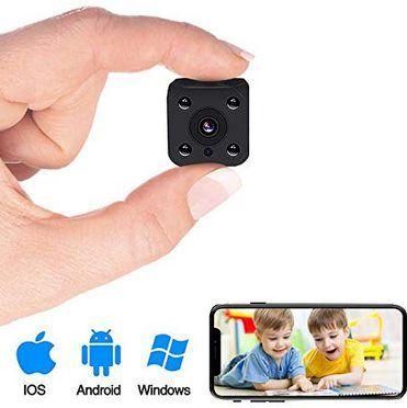 PiAEK 1080P Mini Cam mit Bewegungserkennung für 24,49€ (statt 49€)