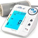 Digitales Oberarm-Blutdruckmessgerät mit Arrhythmie-Erkennung für 2 Personen für 15,59€ (statt 26€)