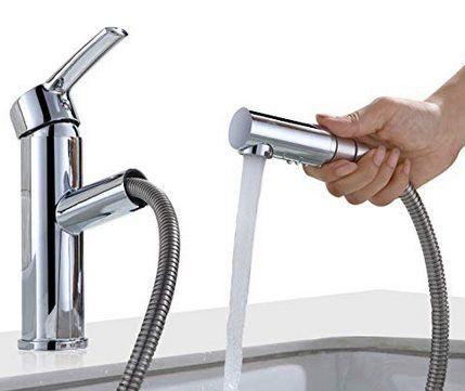 Homelody LJH3338AD   Wasserhahn mit ausziehbarer Brause für 30,99€ (statt 50€)