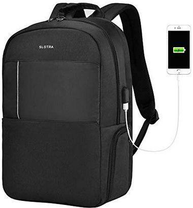 SLOTRA Laptop Rucksack für 15,6 Zoll ab 13,99€ (statt 36€)