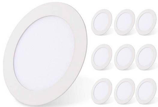 40% Rabatt auf 10er Pack LED Einbaustrahler von Hengda mit 24 Watt für 47,99€ (statt 80€)