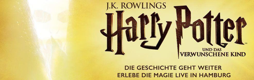 Tickets für Harry Potter und das verwunschene Kind inkl. ÜN in Hamburg ab 149€ p.P.