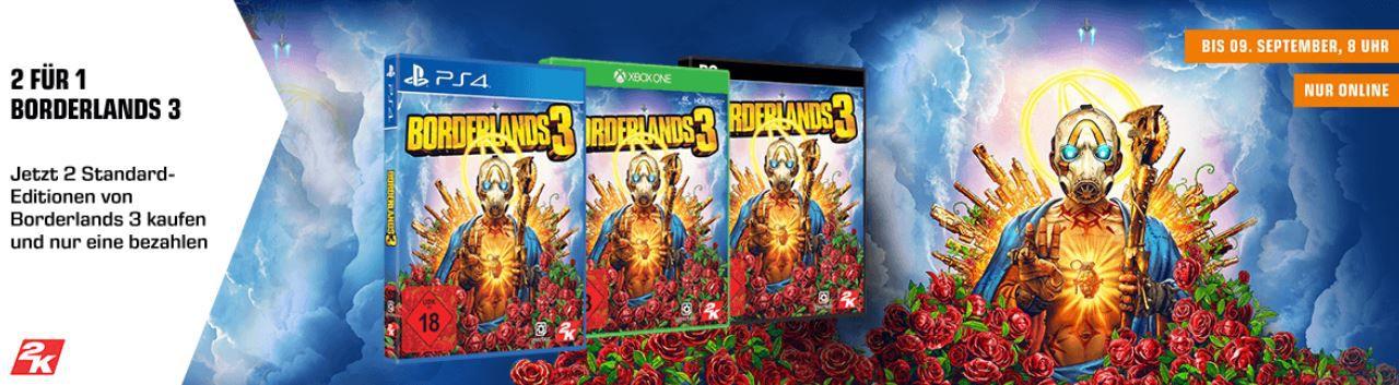 Neuerscheinung Borderland 3   2 Games zum Preis von einem (XBox one) für 69,99€ (statt 105€)