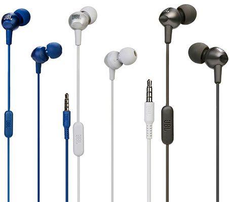 JBL C200SI InEar Kopfhörer in 3 Farben für je 8,09€ (statt 11€)