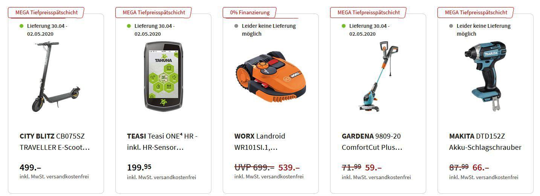 Media Markt: Mega Tiefpreisspätschicht mit sehr vielen guten Angeboten zu Top Preisen!