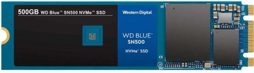 WD Blue SN500 NVMe 500 GB SSD für 59€ (statt 73€)