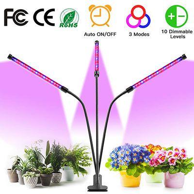 Flexible Pflanzenlampe mit 10 Stufen, 3 Modi & Timer ab 13,49€ (statt 27€)