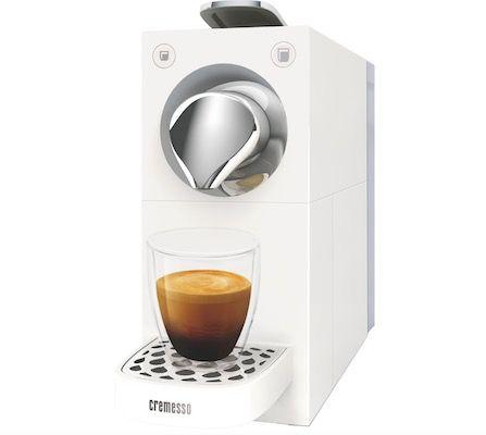 Cremesso Una Automatic Kapselmaschine für 24,44€ (statt 48€)   0,17€pro Bezug