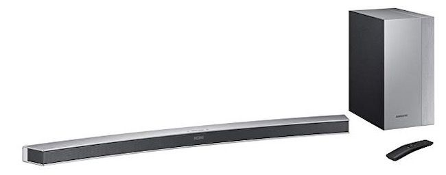 Samsung HW M4501 curved Soundbar inkl. Subwoofer für 188,51€ (statt 308€)
