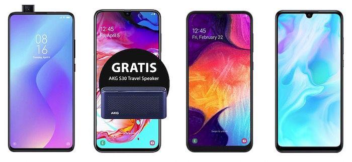 o2 Free Bestandskunden: Partnerkarte mit 10GB LTE für 14,99€ mtl. + Smartphone ab 39,95€