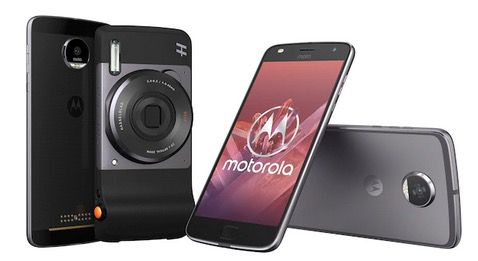 Motorola Moto Z2 Play 64GB + Hasselblad True Zoom Kamera für 254,95€ (statt 421€)