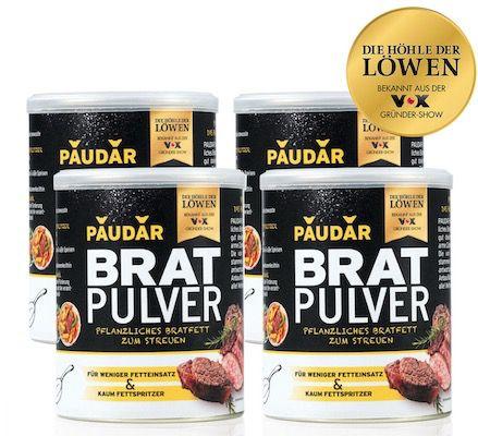 4er Pack Paudar pflanzliches Bratpulver (je 125g Dose) ab 17,93€