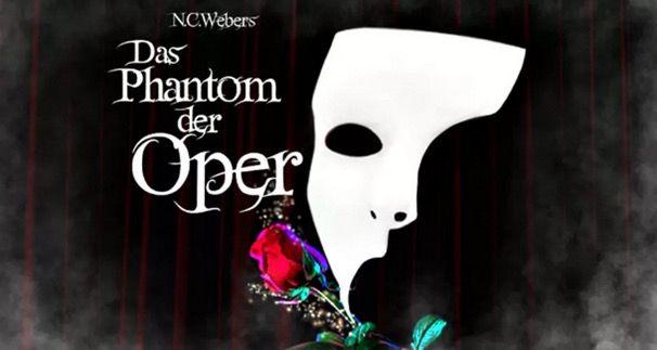 Zwei Tickets für das Phantom der Oper in einigen Städten ab 57,60€