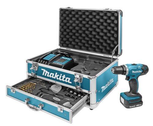 Makita DDF343SYX3 Akku Bohrschrauber mit viel Zubehör für 175,90€ (statt 212€)