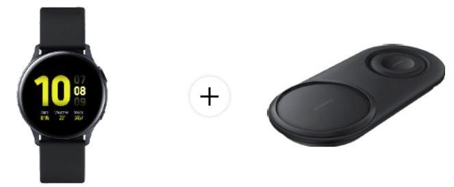 Fehler? Samsung Galaxy Watch 2 + Doppelpack Samsung Wireless Charger Duo für 299€(statt 400€)