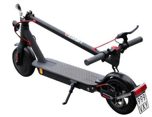ICONBIT CITY E Scooter (20 km/h, Vollgummireifen) mit Straßenzulassung für 199€ (statt 379€)