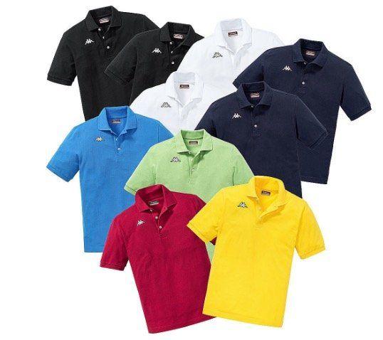 10er Pack Kappa Poloshirts in gemischten Farben für 96,75€ (statt 147€)   nur XL und XXL