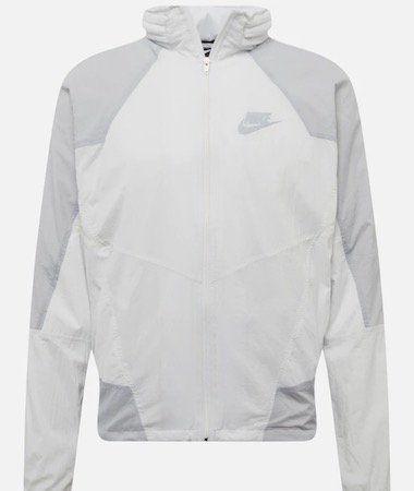 Nike M NSW RE Issue Herrenjacke in Weiß/Grau für 59,93€ (statt 96€)