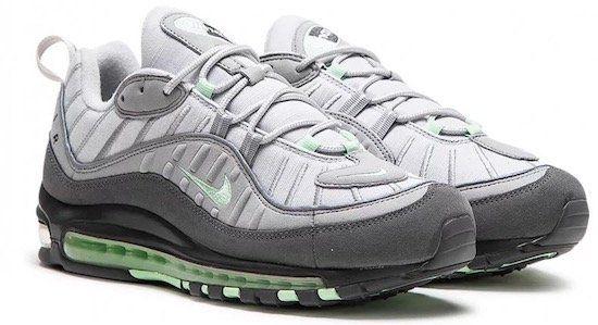 Nike Air Max 98 Sneaker in Grau/Mint für 86,17€ (statt 117€)