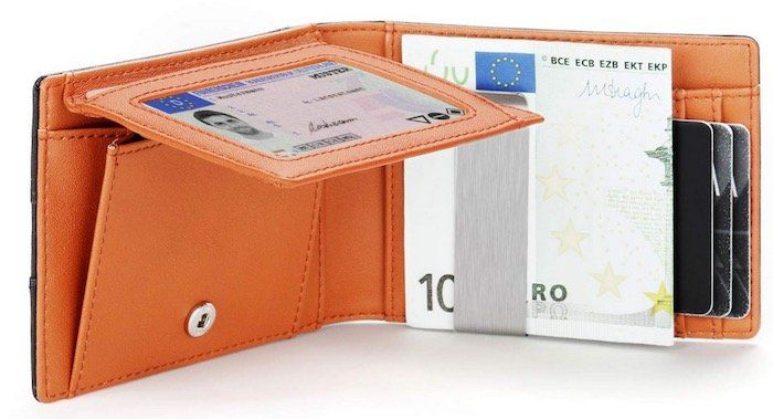 Vemingo Herren Geldbeutel mit Geldklammer & RFID Blocker für 8€ (statt 20€)