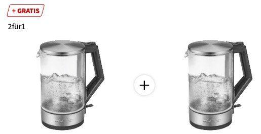 2x Clatronic WKS3641 Inox Wasserkocher für 29€ (statt 53€)