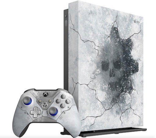 Xbox One X 1TB inkl. Gears of War 5 Limited Edition ab 384€ (statt 498€)