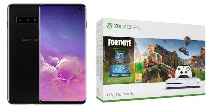 Samsung Galaxy S10 + Xbox One S 1TB Fortnite Bundle für 49€ + Vodafone Flat mit 10GB LTE für 31,99€mtl.