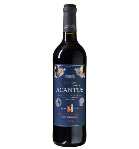 12 Flaschen Acantus Cabernet Sauvignon Tempranillo Rotwein für 39,99€