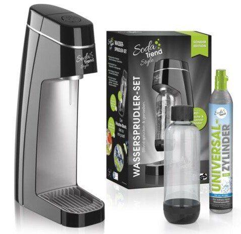 Soda Trend Style mit PET Flasche & CO2 Zylinder für 49,90€ (statt 78€)