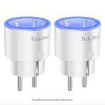 2er Pack bakibo WLAN Smart Home Steckdose inkl. Strommessung für 16,09€(statt 23€) – Prime