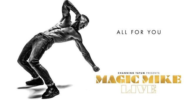 Pricedrop! Ticket für Magic Mike Live in Berlin inkl. ÜN im 4* oder 5* Hotel ab 59€ p.P.