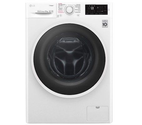 LG F14WM10ES0 Waschmaschine mit 10kg u. Dampffunktion (!) und A+++ für 449,90€ (statt 525€)