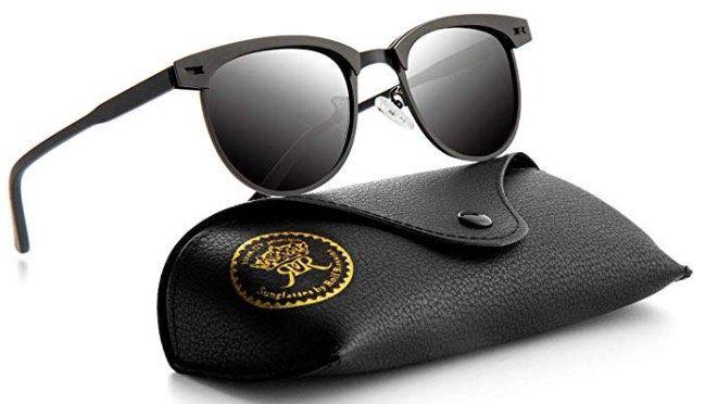 Rocf Rossini Polarisierte Sonnenbrille mit UV400 Schutz für 4,66€ (statt 9€)   Prime