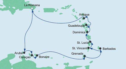 AIDA: 14 Tage Karibik inkl. Balkonkabine, Vollpension + Flügen ab 1.849€ p.P.