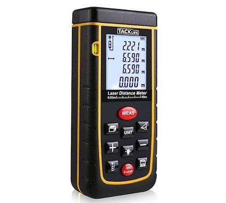 Tacklife A-LDM01 – Laser-Entfernungsmesser (40m) für 19,99€ (statt 27€)