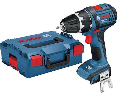 Bosch GSR 18 V LI HX Akku Bohrschrauber ohne Akku + L Boxx für 89,90€ (statt 129€)